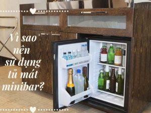 vì sao nên sử dụng tủ mát minibar
